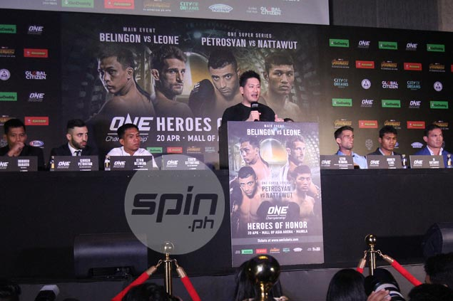 Pinoy KO artist Belingon takes spotlight as ONE rings in changes in Manila card
