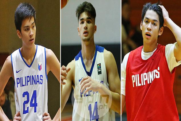 Kobe Paras, Kai Sotto, Ricci Rivero, Troy Rike lead Gilas cadets in Filoil Preseason Cup