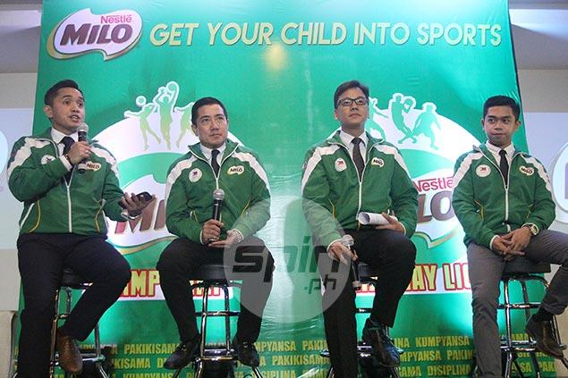 Milo boosts grassroots sports program with launch of Champ Camp, Barangay Liga