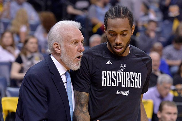 Troubled Spurs season nears bitter end with Kawhi Leonard still nowhere in sight