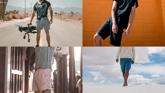 Beat the heat and look good at the same time with these stylish chino shorts
