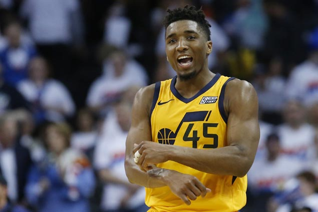 Rookie Mitchell, seven-year vet Rubio score first career playoff win as Jazz level series vs Thunder