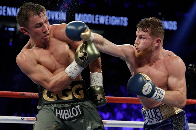 Canelo handed reduced doping ban; Triple G to fight Vanes Martirosyan on May 5