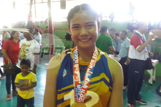 MVP award validates potential for NCR volleyball standout Angel Canino