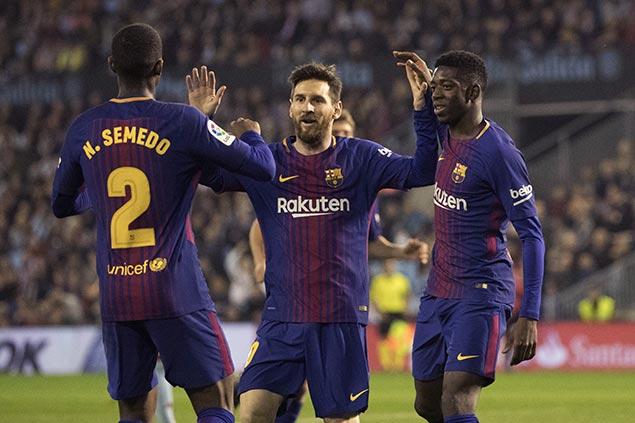 Atletico Madrid loss to Real Sociedad moves Barcelona on verge of bagging La Liga title