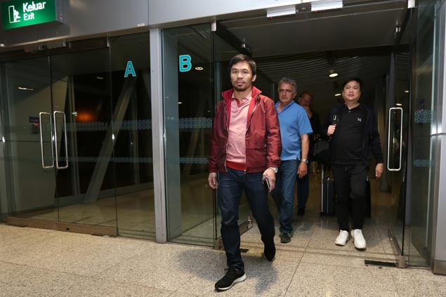 Trainer says Pacquiao 'dad bod' not a concern after almost a year of inactivity