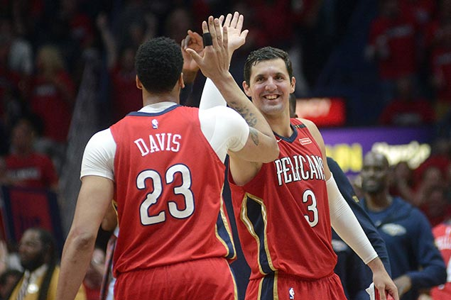 Pelicans' Mirotic on playoff resurgence: 'I just want to show them they were right to bring me here'
