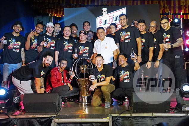Champ San Miguel gets more rest as PBA releases full Commissioner's Cup schedule