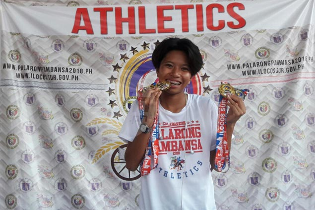 Jessel Lumapas named Most Outstanding Athlete in Palarong Pambansa athletics