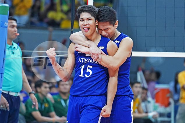 UAAP record holder Marck Espejo says all he was thinking about was saving Eagles' season