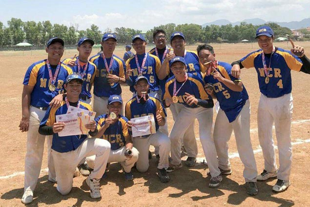 NCR routs Mimaropa to bag Palarong Pambansa baseball gold