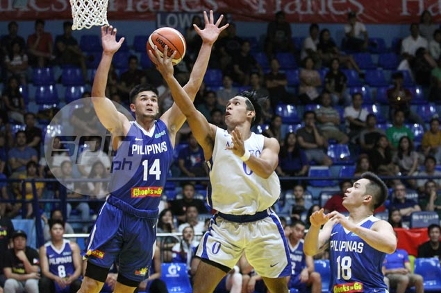 Thirdy Ravena shows the way as Ateneo Blue Eagles down Gilas Cadets