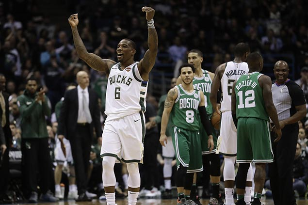 Hot-shooting Bucks shut down Celtics to trim series deficit to 1-2