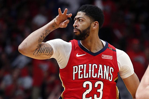 Gentry all praises for Anthony Davis as sixth-seeded Pelicans handily put away No. 3 Blazers