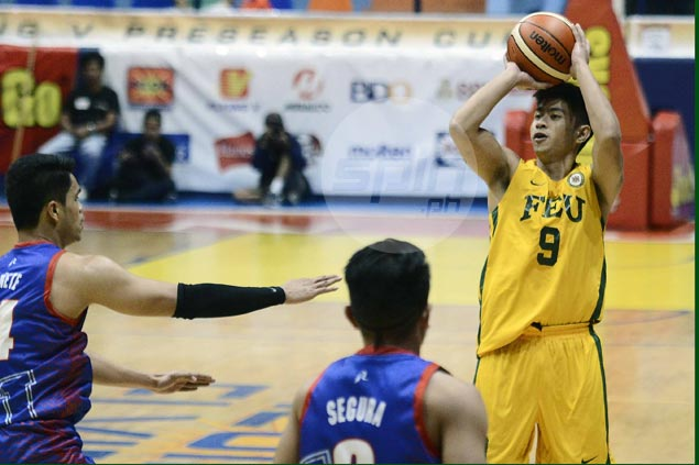 Hubert Cani stars as FEU Tamaraws go wire-to-wire in victory over Arellano Chiefs