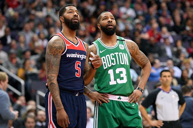 Morris twins Markieff and Marcus fined for roles in separate incidents in playoffs