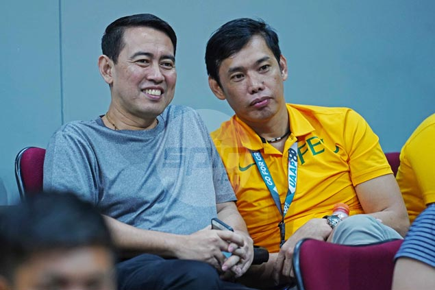 College teammates de Jesus, Pascua back as rivals in UAAP finals after 27 years