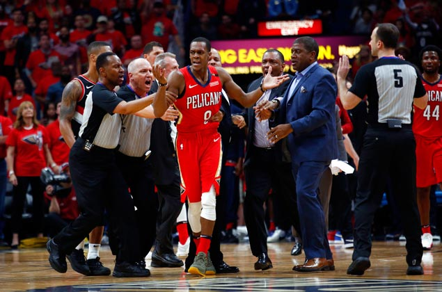 Rondo far from satisfied after Pelicans sweep: 'I came here to win a championship'