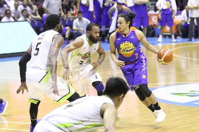 TNT hardly needed Romeo offense as it rips GlobalPort in ill-tempered affair