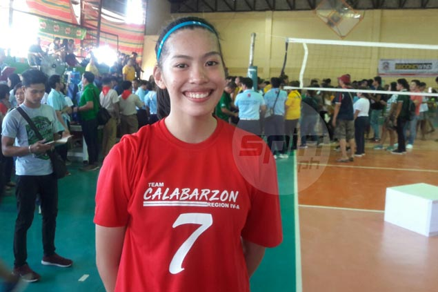 Palaro volleyball standout Alleiah Malaluan remains uncommitted to any UAAP team
