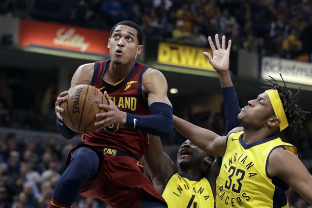 Cavaliers overcome late slip to beat Pacers and level series
