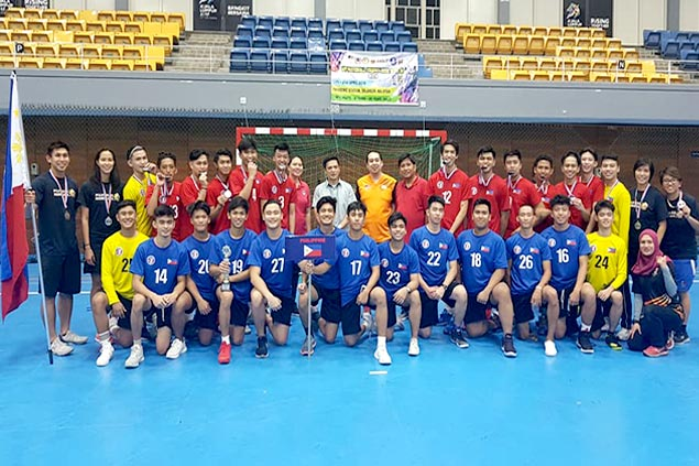 Philippine youth handball team exceeds expectations with silver medal in IHF Trophy