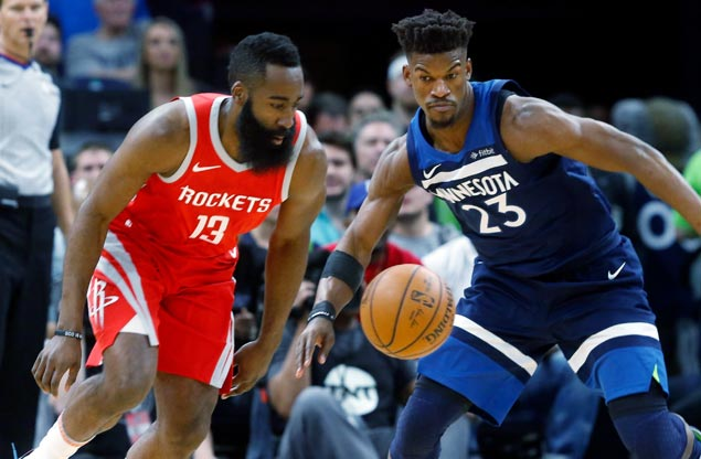 Harden and Co. stay composed as Wolves get rattled by fiery third-quarter barrage