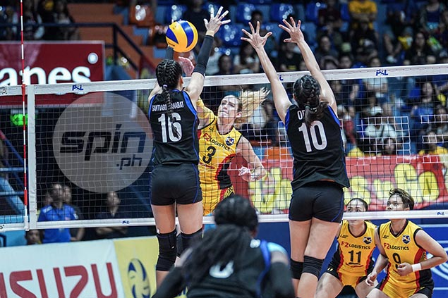 F2 Logistics turn back Foton to move a win away from return trip to PSL Grand Prix Finals