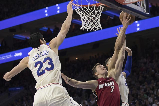 Sixers march on to Eastern Conference semis, finish off Heat in Game Five
