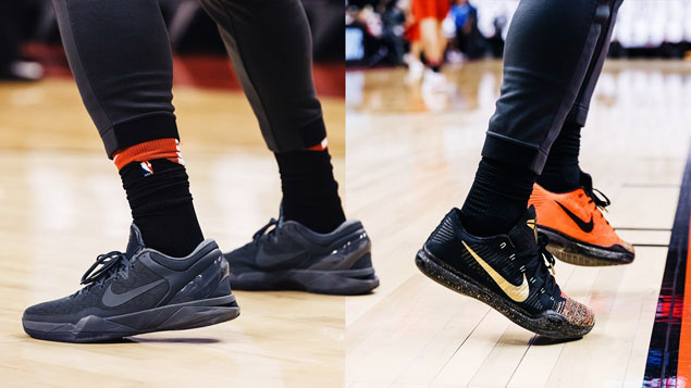 Check out the hottest sneakers adding heat to the intense NBA playoffs battles