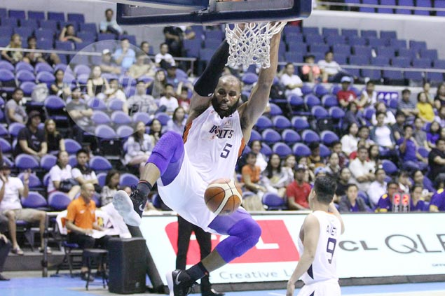 Not even bum stomach, dehydration can slow down hulking Meralco import Onuaku