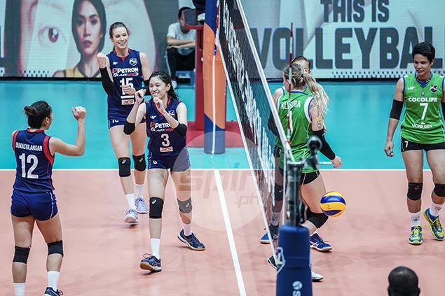 PSL turns down Cocolife's protest on rotation error, upholds Petron win in semis opener