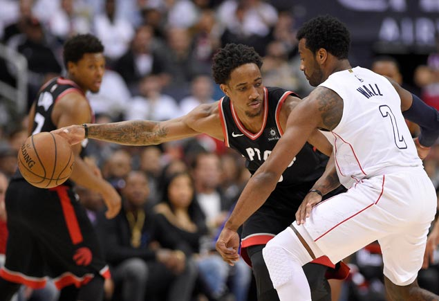 Top seeds Raptors rebound to take series lead over Wizards, close in on conference semis