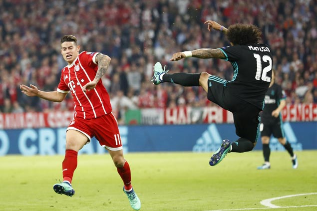 Marcelo, Marco Asensio spark comeback as Madrid beats Bayern away to take control of semifinal