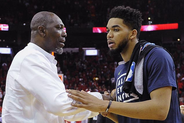 Karl-Anthony Towns looking forward to next playoffs after quick end to first career postseason trip