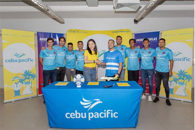 Davao Aguilas FC excited to hit new heights with CebuPac as major backer