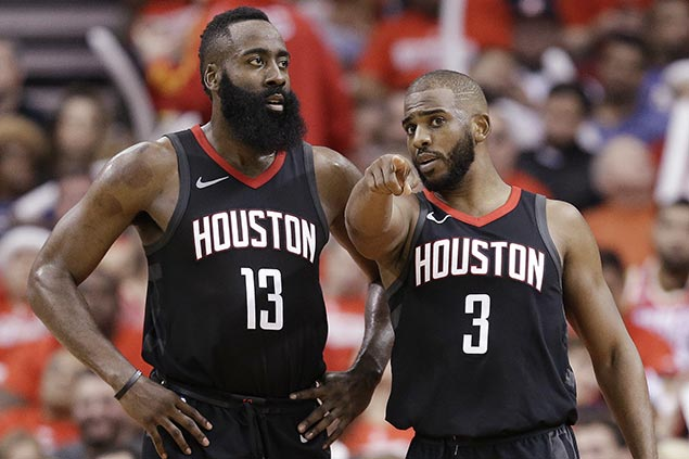 Rockets look to build on strong start with bigger prize at stake in next round for Chris Paul