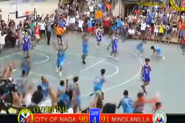 Cebu officials suspend refs, order replay of OT in bizarre Naga-Minglanilla game