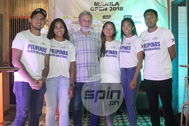 Top PH bets all set to take on the world's best in Manila leg of FIVB Beach Volleyball World Tour