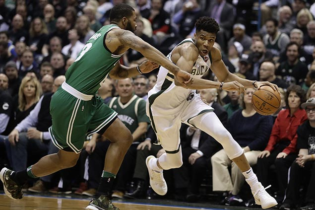 Giannis takes charge as Bucks stave off elimination, drag Celtics to do-or-die match