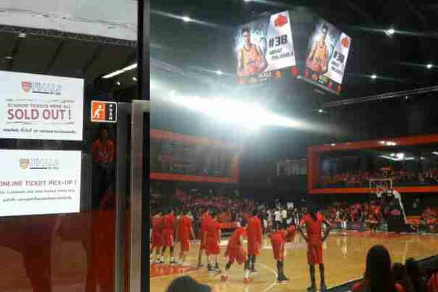 Tickets sold out at Bangkok stadium, all set for ABL finals Game Three between Mono and Alab