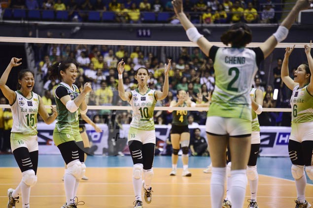 Lady Spikers down Lady Tams in straight sets to close in on third straight title