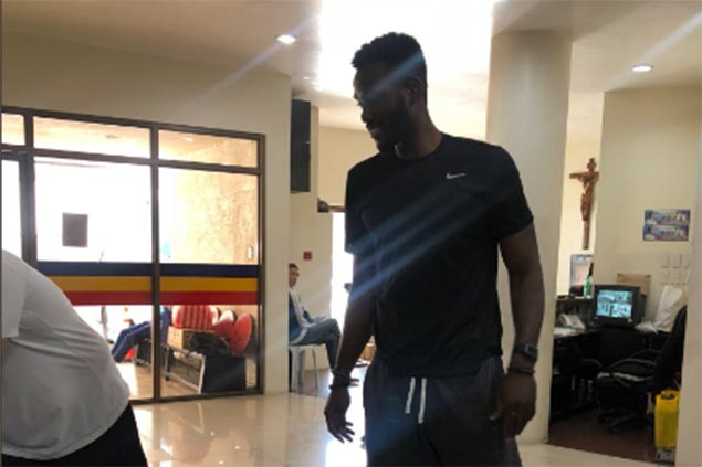 NLEX replacement import Adrian Forbes all set for PBA debut vs Columbian Dyip in Antipolo
