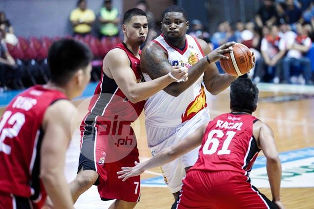 Belga attests Johnson a genuine heavyweight: 'Sobrang bigat - kahit ako di ko kaya'