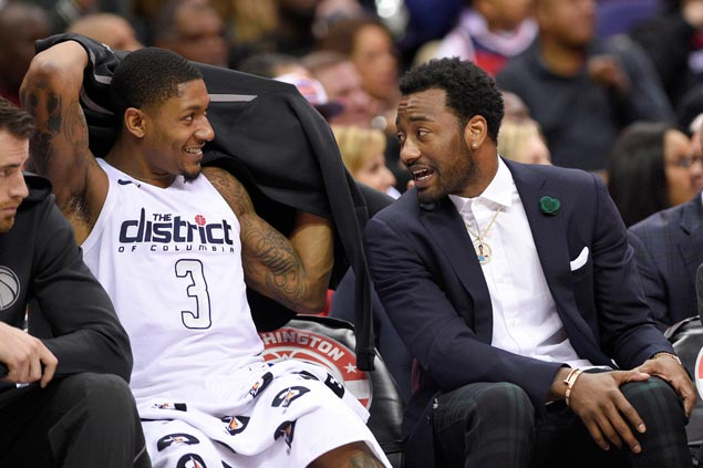 Bradley Beal having none of the talk about breaking up Wizards tandem with John Wall