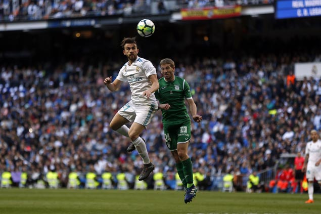Madrid rests Ronaldo, other stars for Champions League and still gets La Liga win over Leganes