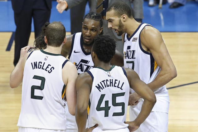 Swept in the season series, Jazz look to get back at Rockets in Western conference semis