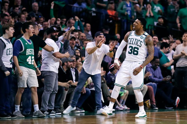 Celtics make Eastern Conference semis for second straight year after edging Bucks in seven games