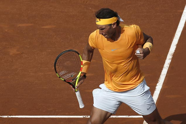 Rafael Nadal records 400th win on clay, reaches Barcelona Open final