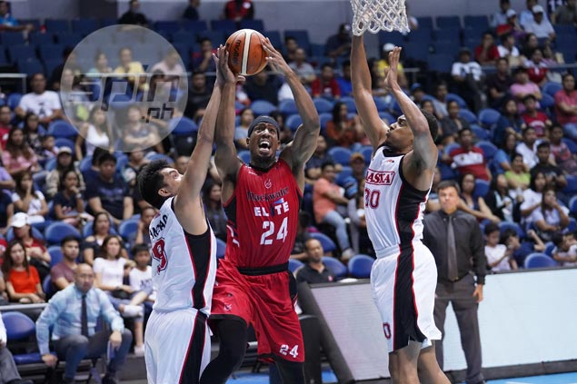 Jarrid Famous would gladly trade monster numbers for an elusive win for Blackwater